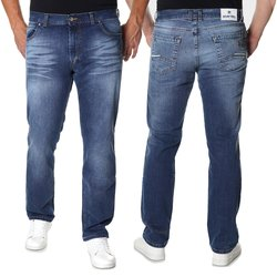 Herren Jeans Hose in Light Blue 400-142