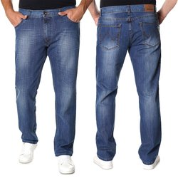 Herren Jeans Hose in Light Blue 400-143