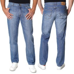 Herren Jeans Hose in Light Blue 400-154