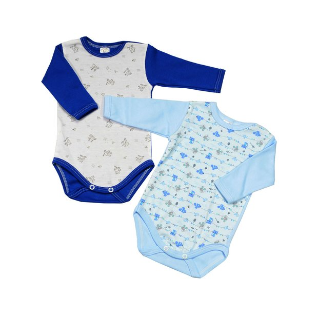 Baumwolle Paw Fr/ühling- Sommer | Blau, 92 Baby Junge Langarmshirts Mickey Hund Blau