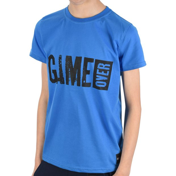Jungen T-Shirt mit GAME OVER