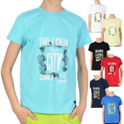 Jungen T-Shirt mit Take a break