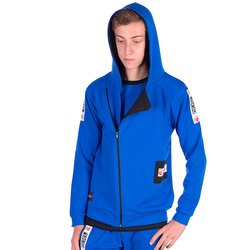 Kinder Jungen Sweatjacke Rebel Blau 122