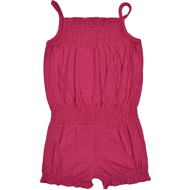 Mädchen Jumpsuit Overall Pink 122