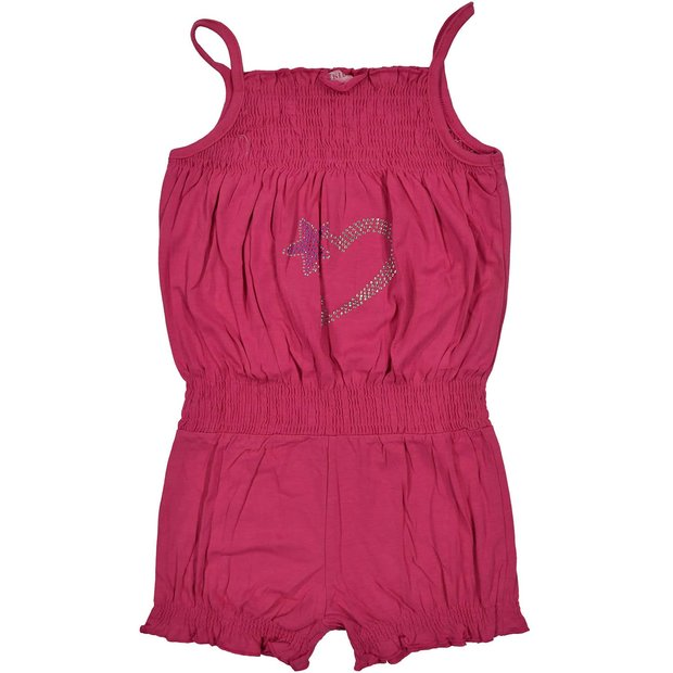 Mädchen Jumpsuit Overall Pink 158