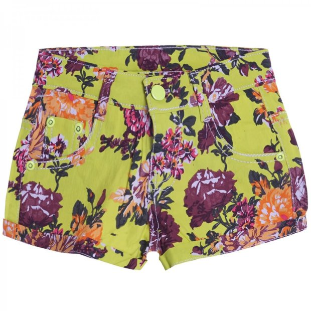 Mädchen Hot Pants Shorts Lemon 110